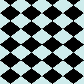 Small Harlequin Check in Mint