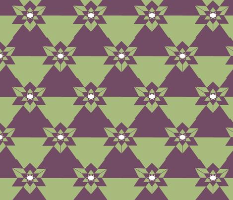 geometric_star fabric by podaiboo on Spoonflower - custom fabric