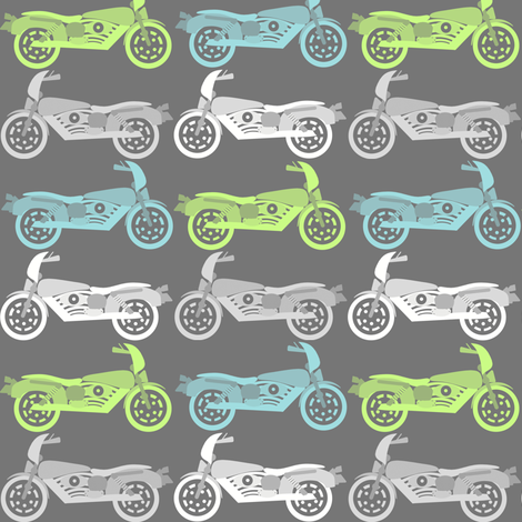 motos fabric by natitys on Spoonflower - custom fabric