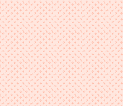 Cat_Trax_-_Peaches fabric by glimmericks on Spoonflower - custom fabric