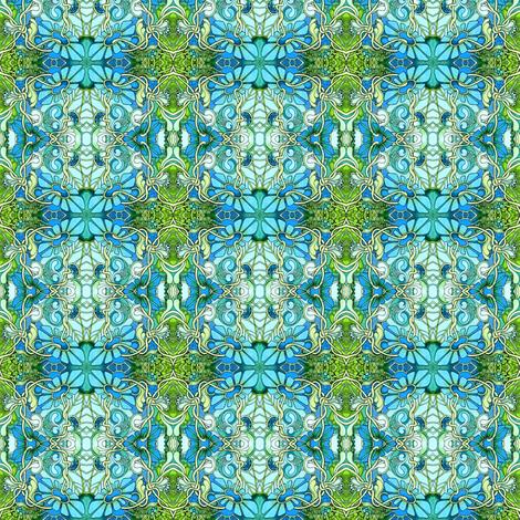 Then Alice Bit Into the Mushroom fabric by edsel2084 on Spoonflower - custom fabric