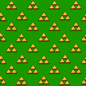 Legend of Zelda - Pure Green Triforce