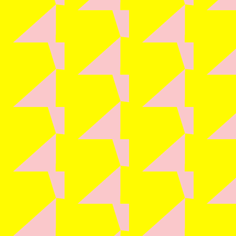 Neon Yellow & Pink fabric by stoflab on Spoonflower - custom fabric