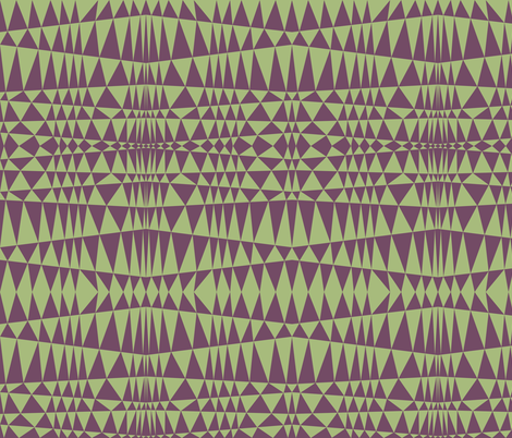 Geometriangles fabric by feebeedee on Spoonflower - custom fabric