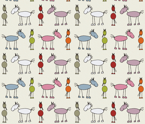 Neddies fabric by dogsndubs on Spoonflower - custom fabric