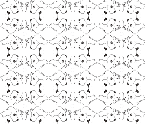 CATS N DOGS fabric by cfishdesign on Spoonflower - custom fabric