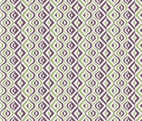 Geometric Groove fabric by kfay on Spoonflower - custom fabric