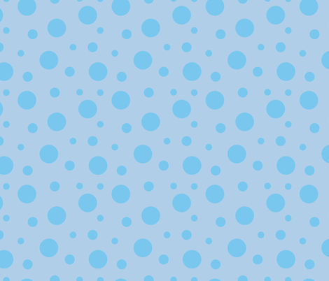 Large_Blue_Dots fabric by donnamarie on Spoonflower - custom fabric
