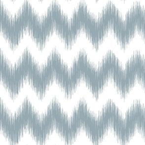 Distorted Chevron Meditative Blue