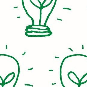 Green Lighbulb Idea