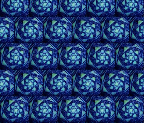 cabbageblue fabric by artfabrik on Spoonflower - custom fabric