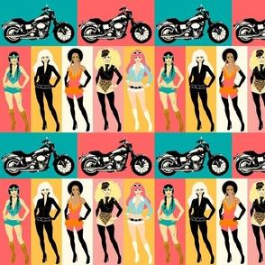 Biker Chick Fashions HALF SIZE