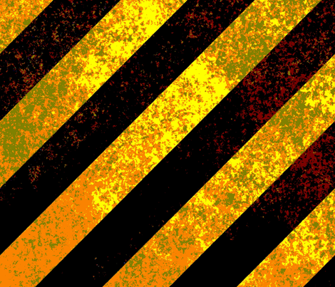 SIGNS CONSTRUCTION STRIPES fabric by bluevelvet on Spoonflower - custom fabric