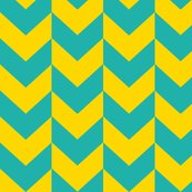 Rcircus_elephant_chevron_teal_and_yellow_shop_thumb