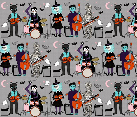 The Tombs-Tones fabric by papersparrow on Spoonflower - custom fabric