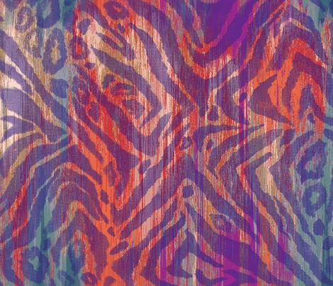 Jungle_Zebra fabric by silverkaos on Spoonflower - custom fabric
