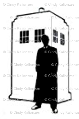 Call Box Silhouette