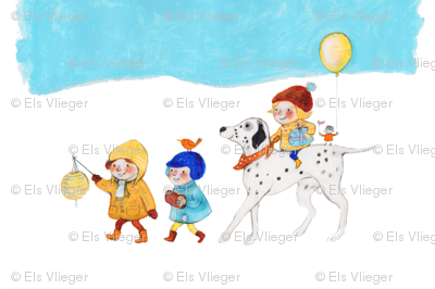 Winter parade