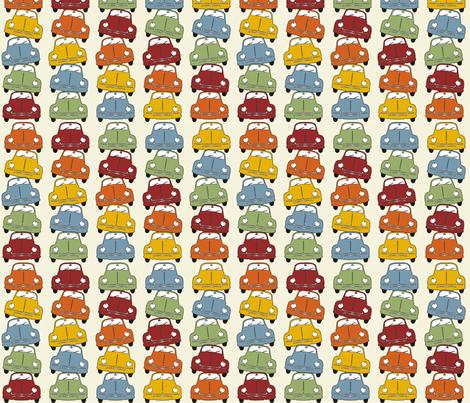 Beetle Totem fabric by marcdoyle on Spoonflower - custom fabric