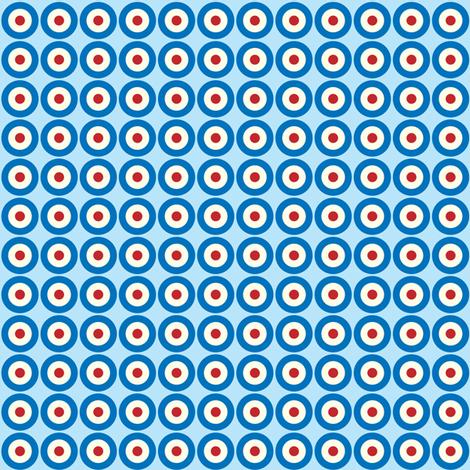 Mod Dots fabric by ebygomm on Spoonflower - custom fabric