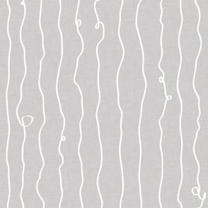 drunken lines white