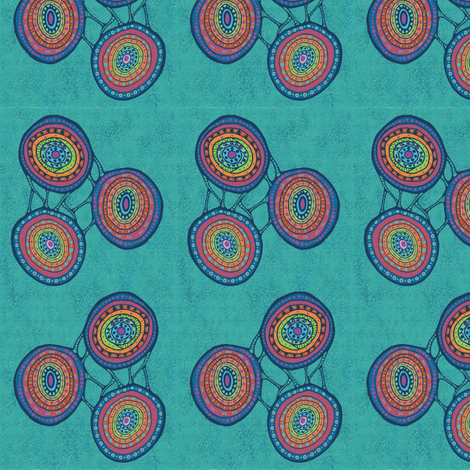 circulos fabric by kirpa on Spoonflower - custom fabric