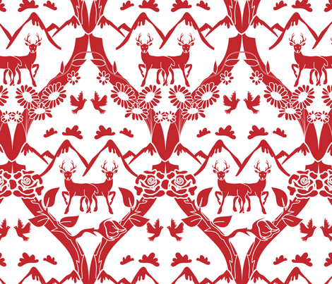 Family Crest fabric by ebygomm on Spoonflower - custom fabric