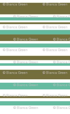 STRIPES (green turquois)
