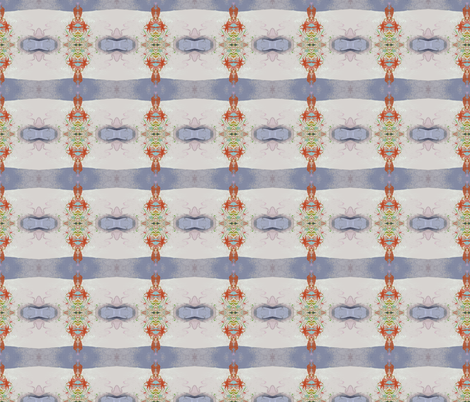 Faded Fresco fabric by susaninparis on Spoonflower - custom fabric