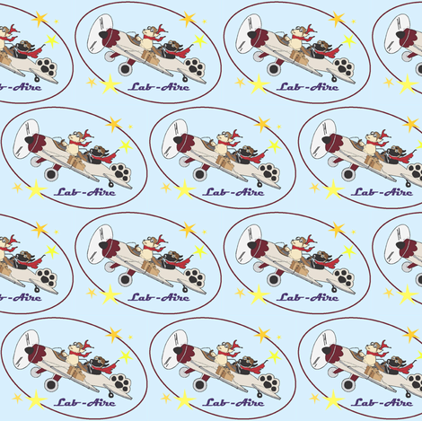 LAB AIR fabric by cfishdesign on Spoonflower - custom fabric