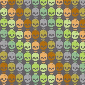 Happy Skulls - diagonal small
