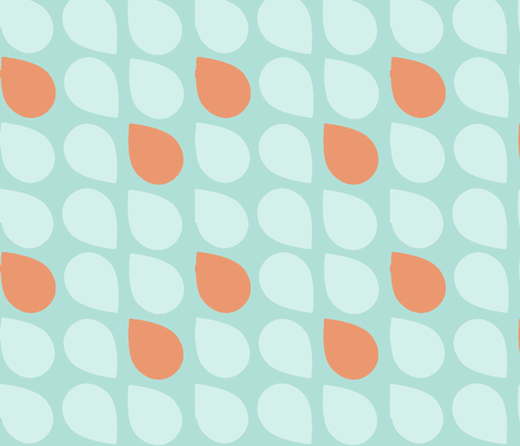 retro drop fabric by myracle on Spoonflower - custom fabric