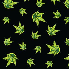 Marijuana Weed Pattern