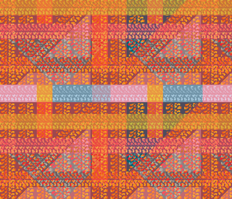 Tyre Track Patchwork fabric by meredithjean on Spoonflower - custom fabric