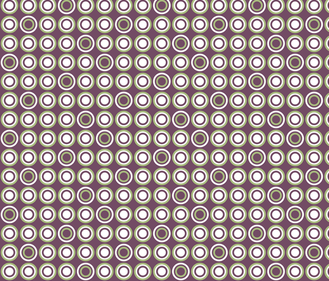 Dots in a Row fabric by ghennah on Spoonflower - custom fabric