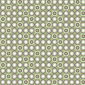 Dots In Rows Green