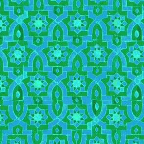Marakesh green/blue