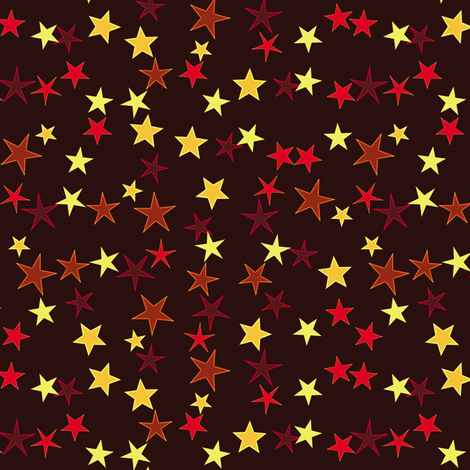 Simple Stars 1 fabric by animotaxis on Spoonflower - custom fabric