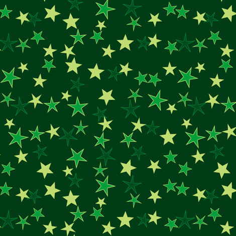 Simple Stars 5 fabric by animotaxis on Spoonflower - custom fabric