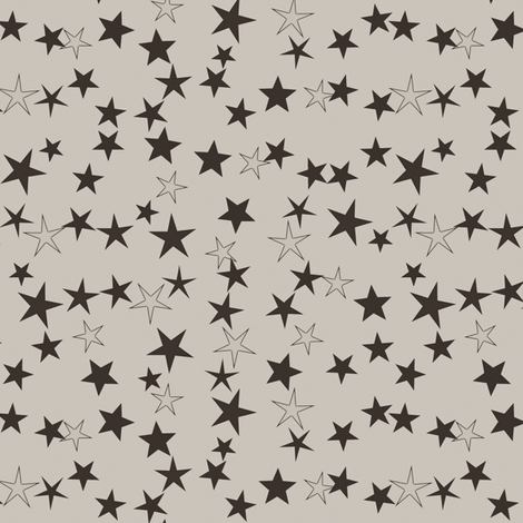 Simple Stars 11 fabric by animotaxis on Spoonflower - custom fabric