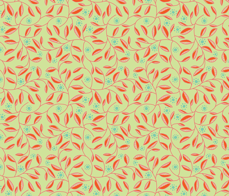 jugendstill-13 fabric by studiojelien on Spoonflower - custom fabric