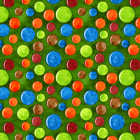 Mod gumballs fabric by vo_aka_virginiao on Spoonflower - custom fabric