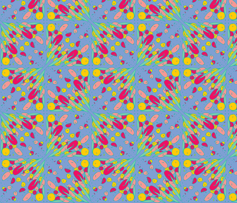 jugenstill-14 fabric by studiojelien on Spoonflower - custom fabric