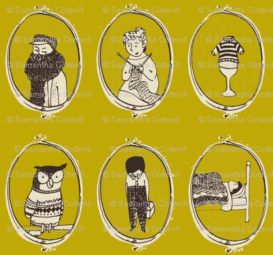 knit portraits