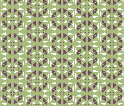 just triangels fabric by studiojelien on Spoonflower - custom fabric