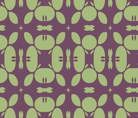 geom-crab-rolls- fabric by wren_leyland on Spoonflower - custom fabric