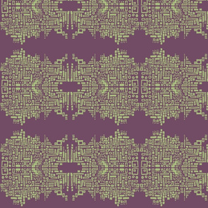 chain_of_shapes_2-olive & purple