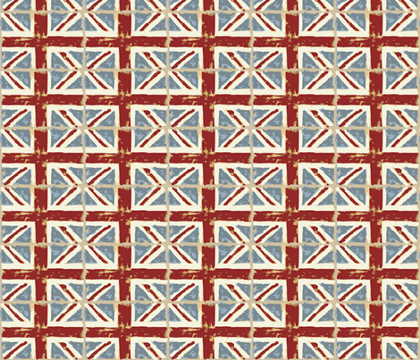 unionjack fabric by dogsndubs on Spoonflower - custom fabric