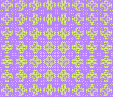 Lavender&green3 fabric by pat_sy on Spoonflower - custom fabric