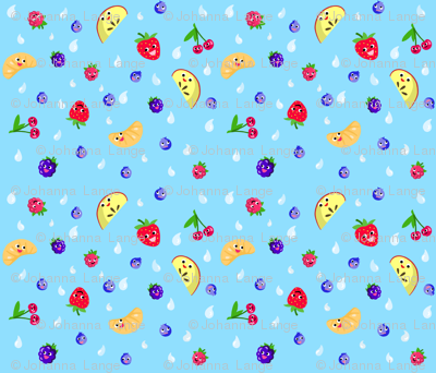 Happy Fruit Blue XL